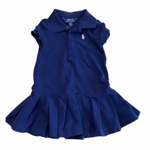 POLO Navy shirt dress 2T